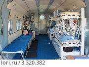 Купить «Оборудование медицинского вертолета», фото № 3320382, снято 19 августа 2011 г. (c) Игорь Долгов / Фотобанк Лори