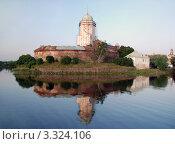 Купить «Выборгский Замок», фото № 3324106, снято 10 июля 2009 г. (c) Светлана Кудрина / Фотобанк Лори