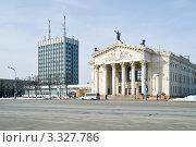 Купить «Гомель, городской пейзаж», фото № 3327786, снято 5 марта 2012 г. (c) Parmenov Pavel / Фотобанк Лори