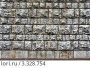 Каменная стена. Стоковое фото, фотограф Михаил Гайдей / Фотобанк Лори