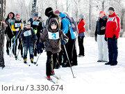 Купить «Лыжный забег на сельской спартакиаде», фото № 3330674, снято 11 февраля 2012 г. (c) Хайрятдинов Ринат / Фотобанк Лори