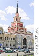 Купить «Казанский вокзал», эксклюзивное фото № 3331986, снято 18 июня 2010 г. (c) Алёшина Оксана / Фотобанк Лори