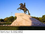 Купить «Медный всадник», фото № 3332602, снято 11 сентября 2009 г. (c) Михаил Смиров / Фотобанк Лори