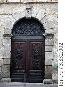 Купить «Падуя. Двери палаццо», эксклюзивное фото № 3332902, снято 19 февраля 2012 г. (c) Татьяна Лата / Фотобанк Лори