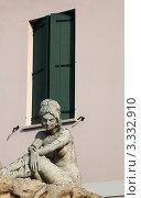 Купить «Абано-Терме. Окно и скульптура девушки», эксклюзивное фото № 3332910, снято 14 февраля 2012 г. (c) Татьяна Лата / Фотобанк Лори