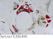 Абстрактный фон из разноцветных разводов на белом с блестками. Стоковое фото, фотограф Каменева Лариса / Фотобанк Лори