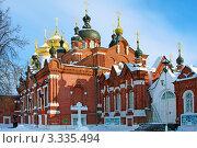 Богоявленско-Анастасиин женский монастырь, Богоявленский собор, фото № 3335494, снято 19 февраля 2010 г. (c) ElenArt / Фотобанк Лори