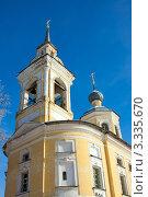 Купить «Церковь Преображения (Ильинская). Нерехта. Костромская область», фото № 3335670, снято 16 февраля 2010 г. (c) ElenArt / Фотобанк Лори