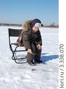 Купить «Маленький рыбак», фото № 3338070, снято 10 марта 2012 г. (c) Елена Гордеева / Фотобанк Лори