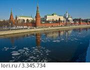 Купить «Москва, Кремль, весна», фото № 3345734, снято 10 марта 2012 г. (c) ИВА Афонская / Фотобанк Лори