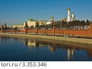 Купить «Москва, Кремль, весна», фото № 3353346, снято 10 марта 2012 г. (c) ИВА Афонская / Фотобанк Лори