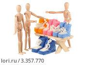 Купить «Продавец пинеток», фото № 3357770, снято 18 марта 2012 г. (c) Игорь Веснинов / Фотобанк Лори