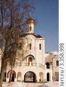 Надвратная церковь, Троицко-Варницкий монастырь. Стоковое фото, фотограф Вячеслав Потапов / Фотобанк Лори