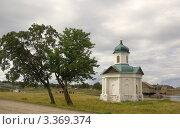 Купить «Александровская часовня, Соловки», фото № 3369374, снято 11 августа 2011 г. (c) Natalya Sidorova / Фотобанк Лори