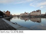 Старая набережная. Вид на Юбилейный мост (2011 год). Редакционное фото, фотограф Svet / Фотобанк Лори