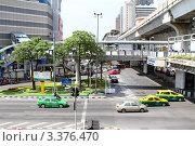 Городской пейзаж, Бангкок (2011 год). Редакционное фото, фотограф Рачия Арушанов / Фотобанк Лори