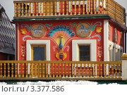 Купить «Измайловский кремль. Фрагмент башни. Москва», эксклюзивное фото № 3377586, снято 24 марта 2012 г. (c) lana1501 / Фотобанк Лори