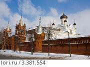 Купить «Егорьевск, Свято-Троицкий Мариинский монастырь», фото № 3381554, снято 24 марта 2012 г. (c) ИВА Афонская / Фотобанк Лори