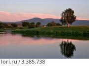Купить «Алтай. Вечернее озеро», эксклюзивное фото № 3385738, снято 17 июня 2011 г. (c) Александр Тараканов / Фотобанк Лори