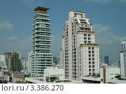 Городской пейзаж, Бангкок, Таиланд (2011 год). Редакционное фото, фотограф Рачия Арушанов / Фотобанк Лори