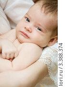 Новорождённый ребёнок. Стоковое фото, фотограф Костырина Елена / Фотобанк Лори