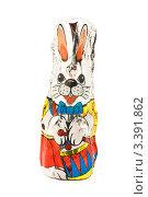 Шоколадный заяц в фольге. Редакционное фото, фотограф Инна Шевелёва / Фотобанк Лори