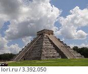 Мексика, Чичен Ица, Мая (2011 год). Стоковое фото, фотограф Автор Неизвестен / Фотобанк Лори