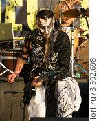 """Купить «Группа """"Mordor"""" на фестивале """"Нашествие 2009""""», фото № 3392698, снято 16 февраля 2019 г. (c) Константин Гуща / Фотобанк Лори"""