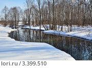 Весна на реке Скорогадайка (2012 год). Стоковое фото, фотограф Елена Коромыслова / Фотобанк Лори