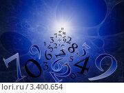 Купить «Нумерология (древняя наука)», иллюстрация № 3400654 (c) Руслан Гречка / Фотобанк Лори
