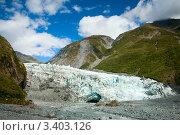 Купить «Ледник Фокса», фото № 3403126, снято 15 января 2010 г. (c) Дмитрий Наумов / Фотобанк Лори