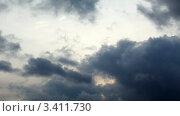 Купить «Небесный пейзаж, таймлапс», видеоролик № 3411730, снято 1 апреля 2012 г. (c) Артем Поваров / Фотобанк Лори