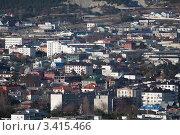Купить «Плотная городская застройка», эксклюзивное фото № 3415466, снято 6 января 2012 г. (c) Алексей Шматков / Фотобанк Лори
