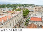 Купить «Гавана. Вид на крыши старого города», фото № 3420198, снято 17 декабря 2011 г. (c) Сергей Дубров / Фотобанк Лори