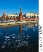 Купить «Москва, Кремль, весна», фото № 3423094, снято 10 марта 2012 г. (c) ИВА Афонская / Фотобанк Лори