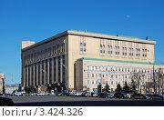 Купить «Лубянский проезд дом № 3/6  Москва», эксклюзивное фото № 3424326, снято 2 апреля 2012 г. (c) lana1501 / Фотобанк Лори