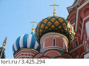 Купола Покровского собора (2012 год). Стоковое фото, фотограф Александр Дубровский / Фотобанк Лори