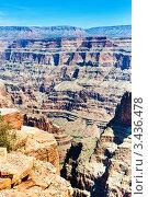 Купить «Великий Каньон. Плато Колорадо. Штат Аризона. США», фото № 3436478, снято 17 апреля 2011 г. (c) Екатерина Овсянникова / Фотобанк Лори