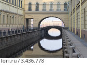 Канал Зимняя канавка. Санкт-Петербург (2012 год). Стоковое фото, фотограф Александр Алексеев / Фотобанк Лори