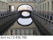 Купить «Канал Зимняя канавка. Санкт-Петербург», эксклюзивное фото № 3436786, снято 14 апреля 2012 г. (c) Александр Алексеев / Фотобанк Лори