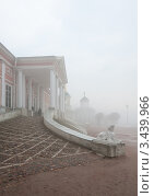 Купить «Москва. Усадьба Кусково. Туман», фото № 3439966, снято 15 апреля 2012 г. (c) Бурмистрова Ирина / Фотобанк Лори