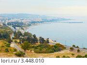 Вид на Лимассол в пасмурный день, Кипр (2012 год). Стоковое фото, фотограф Миронова Евгения / Фотобанк Лори