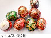 Купить «Пасхальные яйца», фото № 3449018, снято 24 апреля 2010 г. (c) Екатерина Шелыганова / Фотобанк Лори