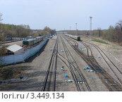 Купить «Железная дорога», эксклюзивное фото № 3449134, снято 30 апреля 2011 г. (c) lana1501 / Фотобанк Лори
