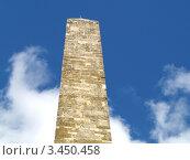 Древняя римская башня в Англии. Стоковое фото, фотограф Сергей Жадов / Фотобанк Лори
