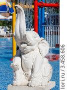 Купить «Скульптура слона», эксклюзивное фото № 3458606, снято 19 августа 2011 г. (c) Журавлев Андрей / Фотобанк Лори