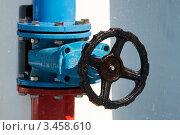 Купить «Вентиль», эксклюзивное фото № 3458610, снято 19 августа 2011 г. (c) Журавлев Андрей / Фотобанк Лори