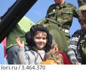 Юный танкист (2009 год). Редакционное фото, фотограф Вадим Янгунаев / Фотобанк Лори