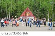 Купить «День Победы в г. Обнинске», эксклюзивное фото № 3466166, снято 9 мая 2011 г. (c) Алёшина Оксана / Фотобанк Лори