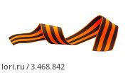 Георгиевская лента. Стоковое фото, фотограф Кардашева Ирина Александровна / Фотобанк Лори